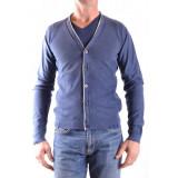 Cardigan Barbati Fred mello Albastru 102876, XL, XXL