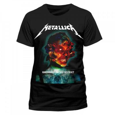 Tricou Metallica - Hardwired Album Cover foto