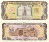 REPUBLICA DOMINICANA 20 pesos oro 1990 UNC!!!