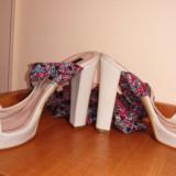 Sandale noi Musette (nepurtate), 39, Alb