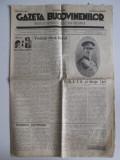 Ziarul Gazeta Bucovinenilor 15 apr-1 mai 1935,Carol II,O.E.T.R. si Straja Tarii
