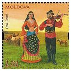 MOLDOVA 2018, Costume populare, serie neuzata, MNH, Nestampilat