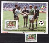 Bolivia 1988  sport fotbal  MI bl.177    MNH  w51, Nestampilat
