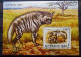NIGER 2015 FAUNA ANIMALE SALBATICE HIENE, Nestampilat