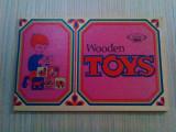 WOODEN TOYS * Catalog ICECOOP - Editura UCECOM, lb. engleza