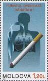 MOLDOVA 2011, Lupta impotriva fumatului, serie neuzata, MNH, Nestampilat