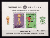 Uruguay 1981  sport fotbal  MI bl.51  MNH  w51, Nestampilat