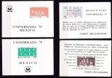 Mexic  1979  sport  MI bl.22,23,24,25   MNH  w51, Nestampilat