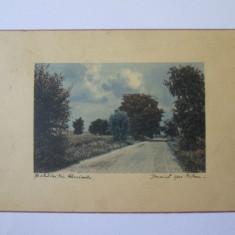 Rara! Carte postala/cromo Farcasesti Gorj,circulata cca 1908, Fotografie