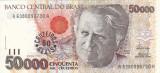 BRAZILIA 50.000 cruzeiros AUNC+!!!