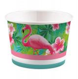 8 Boluri din carton inghetata desert Flamingo Paradise 270ml