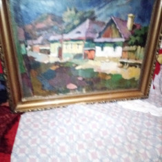 tablou scoala baimareana NAGY OSZKAR