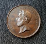 Medalie Carol I - Domn - 1878 - Onore Cultivatorului - Raritate