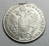 20 Kreuzer 1829 A, Europa