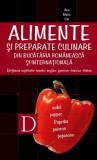 Alimente si preparate culinare din bucataria romaneasca si internationala. Dictionar explicativ roman-englez-german-francez-italian (eBook), Allfa