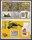 Bolivia 1981  sport fotbal  MI bl.117, 118    MNH  w51, Nestampilat