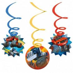 6 Spirale decorative de agatat Blaze & Monster Machines