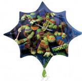 Balon folie Super Shape Testoasele Ninja 88 x 73 cm
