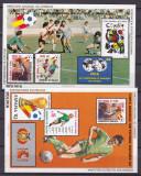 Bolivia 1982 sport fotbal  MI bl.124,125    MNH  w51, Nestampilat