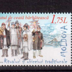 MOLDOVA 2013, Ritualuri si obiceiuri traditionale, serie neuzata, MNH, Nestampilat