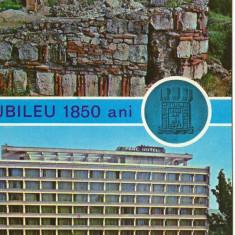 CPI B 10669 CARTE POSTALA - TURNU SEVERIN. RUINE, PARC HOTEL, JUBILEU 1850 ANI, Necirculata, Fotografie