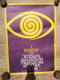 Lot afis vechi vintage poster protectia muncii comunist anii 70