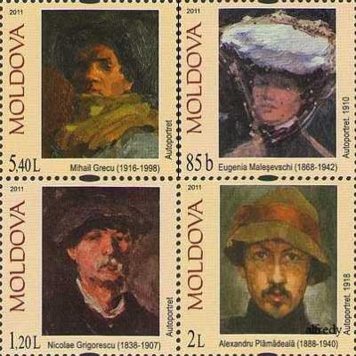 MOLDOVA 2011, Picturi, serie neuzata, MNH foto