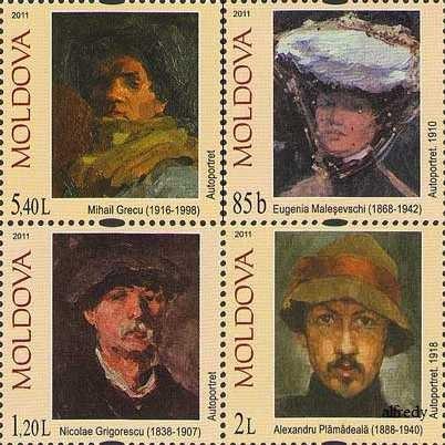 MOLDOVA 2011, Picturi, serie neuzata, MNH
