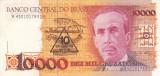 BRAZILIA 10 cruzados novos / 10.000 cruzados XF!!!