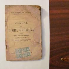"CY - COMAN & CANDREA ""Manual de Limba Germana"" / 1921"