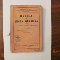 "CY - Demetriu MICHAIL ""Manual de Limba Germana"" / 1935"