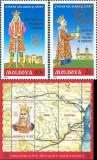MOLDOVA 2004, Stefan cel Mare si Sfant, serie neuzată, MNH, Nestampilat