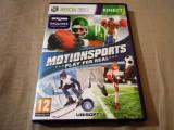 Joc Kinect Motion Sports Play for Real, XBOX360, original, alte sute de jocuri!, Sporturi, 3+, Multiplayer