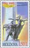 MOLDOVA 2005, 60 de ani de la victoria in WWII, serie neuzata, MNH, Nestampilat