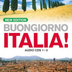 Buongiorno Italia! Audio Cd's (New Edition), Audiobook