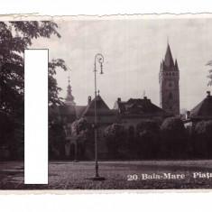 CP Baia Mare - Piata Unirii, circulata, 1938, Fotografie
