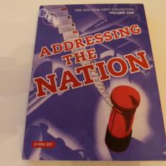 Addressing the nation - 2 dvd, Engleza