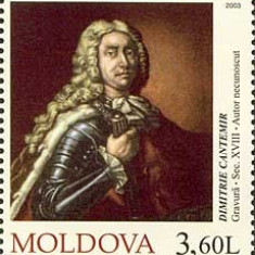 MOLDOVA 2003, Dimitrie Cantemir, serie neuzata, MNH, Nestampilat