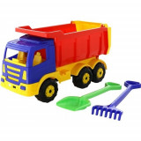 Camion Premium 67 cm cu lopata si grebla - Wader, Polesie