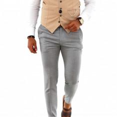 Pantaloni conici pentru barbati eleganti - LICHIDARE DE STOC  - A1200, Din imagine