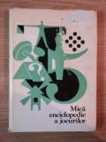MICA ENCICLOPEDIE A JOCURILOR de MILOS ZAPLETAL , 1980