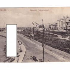 CP Constanta - Bulevardul. Vedere generala, circulata, animata, pana in 1918, Fotografie