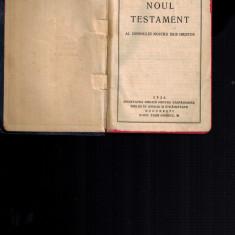 Noul Testament al Domnului nostru Isus Hristos, Societatea biblica 1936
