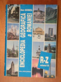 ENCICLOPEDIA GEOGRAFICA A ROMANIEI - DAN GHINEA , BUC. 1998- VOL.III