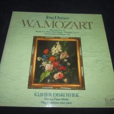 Jorg Demus - V.A.Mozart & Beethoven _ dublu vinyl , 2 x LP _Eurodisc (Germania), VINIL