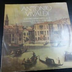 DISC VINIL ANTONIO VIVALDI - L ESTRO ARMONICO 2 VINILURI