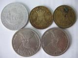 Romania (6): 5 Lei 1978, 20 Lei 1992, 1993, 100 Lei 1993, 1994