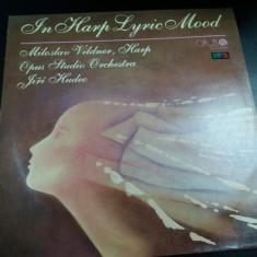 DISC VINIL IN HARP LYRIC MOOD
