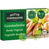 Cub de Supa Vegetal cu Legume Ecologic/Bio 8 Buc