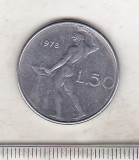 Bnk mnd Italia 50 lire 1978, Europa